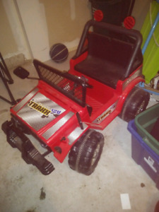 Kids Power Wheels Jeep.