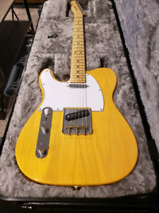 American professional left handed telecaster