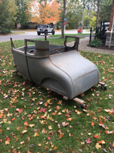 1926 1927 Ford Model T Coupe Roadster RARE HOT / RAT ROD Project