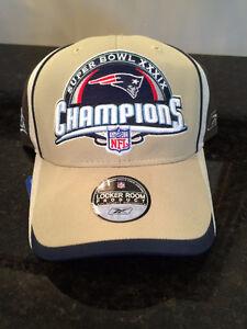 New England Patriots Super Bowl Championship Locker Room Hat