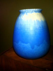 Rare Vintage Ruskin Pottery Formerly Owned By W.P. Kinsella