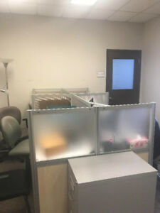 Desks and  Partitions For Sale