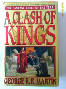 First Edition Clash Of Kings- Game of Thrones Book Two-Hardcover
