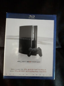Plays Station Demo Blue ray New unopened