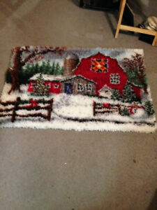 LATCH HOOK RUGS FOR SALE