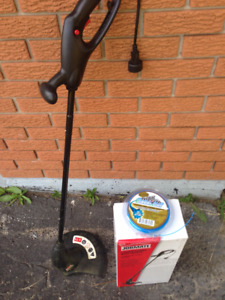 Electric Grass Trimmer + Trimmer line