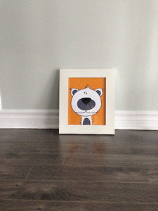 Polar Bear Print and Frame