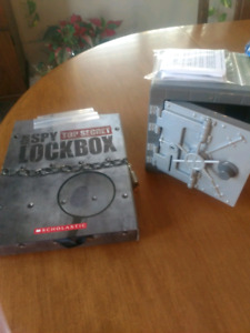 Spy lockbox and safe