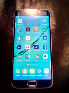 Samsung galaxy s6 edge 32 GB with wireless charger