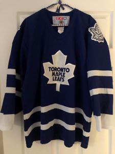 CCM Toronto Maple Leafs Home Jersey Size M