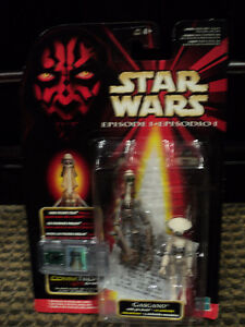 Star Wars Gasgano (with Pit Droid) figure *NEW IN BOX*