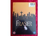 The complete DVD box set of Frasier