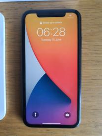 Iphone 11 Black with box etc 64gb