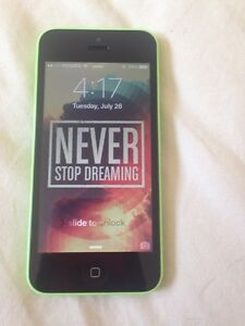 TRADE/SELL Green Iphone 5C