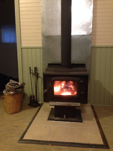 Great Wood Burning Stove