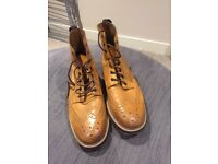 Men's leather boots size 12
