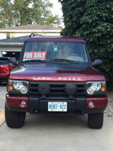 2000 Land Rover Discovery Custom Series II SUV, Crossover