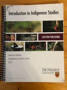 Introduction to Indigenous Studies - McMaster University Book