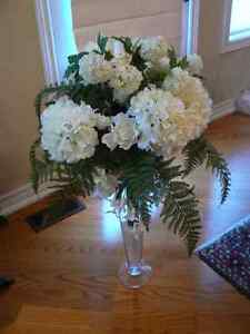 Wedding Floral Church Bouquet of White & Green