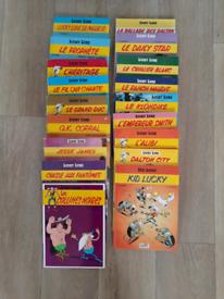 Lucky Luke Comic books (in french)