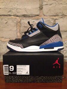 Nike air Jordan 3 size 9 Kingston Kingston Area image 1