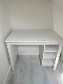 *IKEA White Office Desk* in mint condition!!