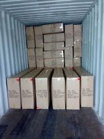 unloading contianer