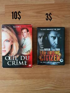 Série tv Oeil du crime et film