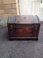 Little antique trunk