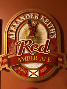 Alexander's Keith beer sign