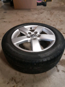 VW Jetta Pirelli Tires