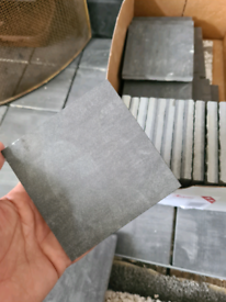 Labicer grey tiles made in Portugal