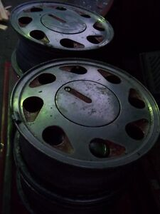REDUCED   Aluminum VW rims 14x6 4 bolt $50/set