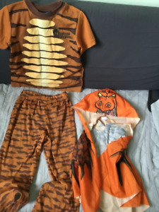 Halloween Costume tiger for kids size 4T
