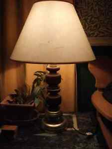 Nice large table lamp- $12