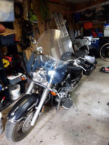 1100 Yamaha V Star - Low km's -  Bullet Proof Cruiser