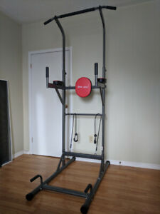 Pull up/Push up/Knee raise Workout Station