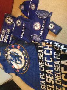 Soccer/football Chelsea FC towel,shoe bag, wallet, hat