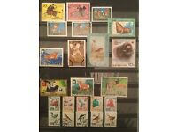 DPRK North Korea Stamp Collection - Nature Stamps + More