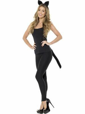 Erwachsene Katze Sofort Set Panther Ohren Schwanz für - Schwarze Katze Kostüm Erwachsene
