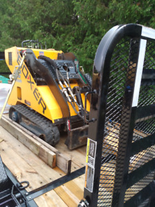 Boxer mini skid steer services available