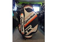 "TAYLORMADE R1 TOUR BAG 9.5"" TD EXCELLENT CONDITION"
