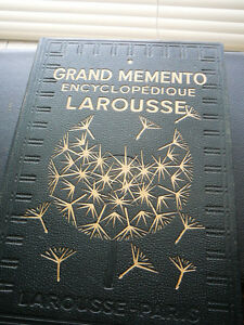 Grand Memento Encyclopédie Larousse, 2 vol - Excellent état