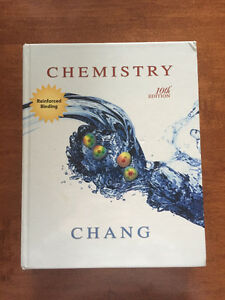 Chang Chemistry 10th Ed. University