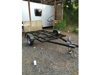 Motocross mx quad bike trailer ( 3 bike trailer)