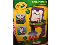 Crayola My First Art Studio Easel brand new unopened box