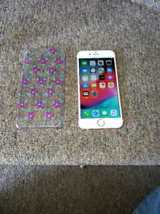 UNLOCKED 128GB ROSE GOLD IPHONE 6S INCLUDES CASE AND CHARGER