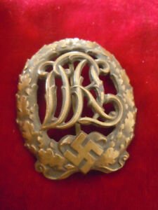 Badge allemand DRL WWII Militaria Militaire