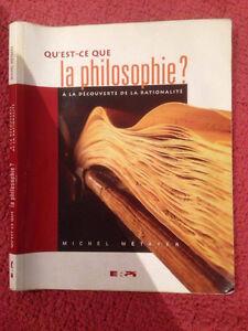 Manuel qu'es-ce que la philosophie ?