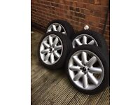Mini Cooper S alloy wheels 17""